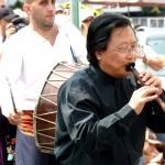 Professor Haisheng Li in the Eisteddfod,Llangollen 2013