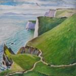Dorset ,2008. Oil on canvas. 60X60