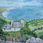 Llyn Peninsula, 2012.Oil on canvas. 80X80